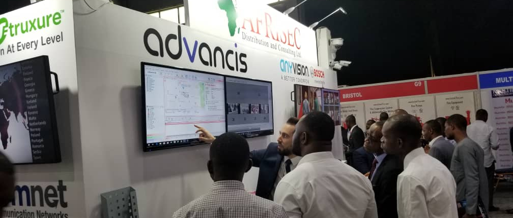 Advancis exhibited at the stand of our partner Afrisec at Securex West Africa 2019 in Lagos, Nigeria